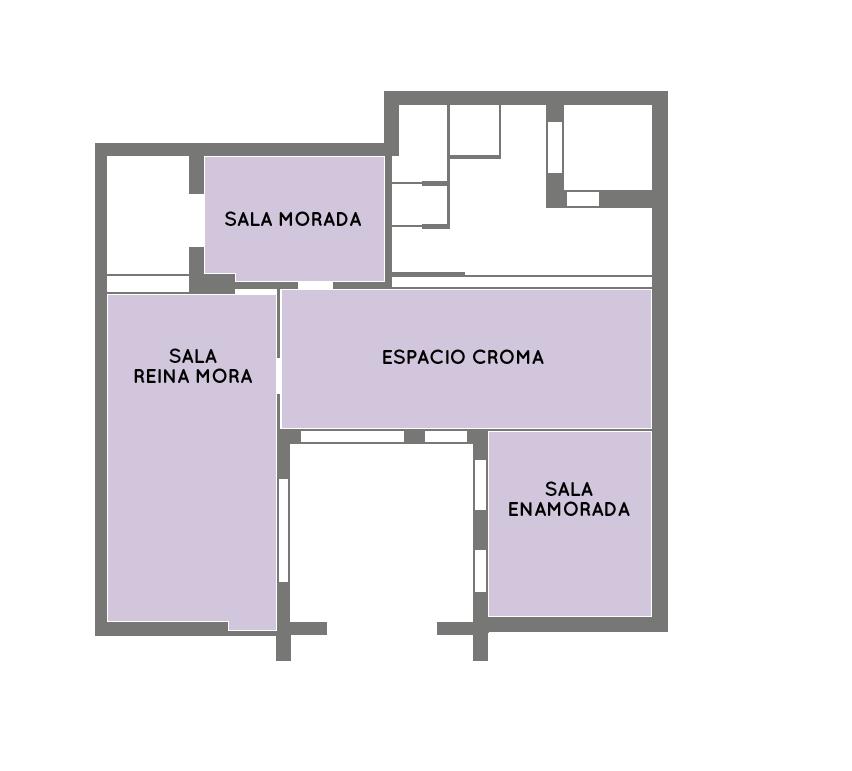 Plano general de La Morada