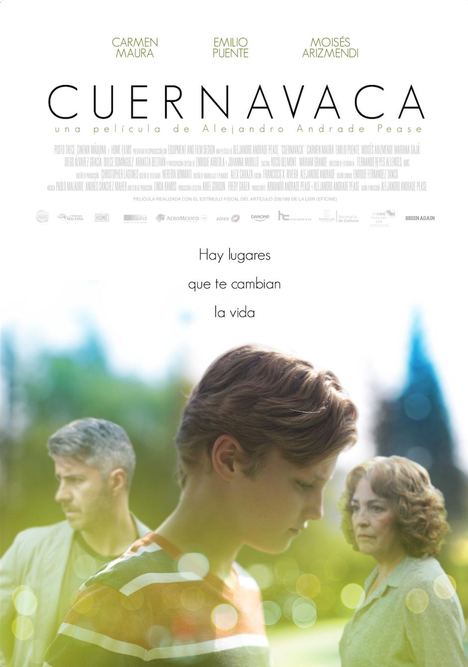 Cartel película CUERNAVACA